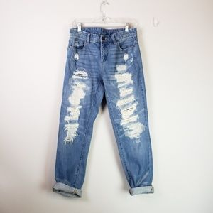 Blank NYC Jeans - Blank NYC Galaxy Distressed Straight Leg Jeans